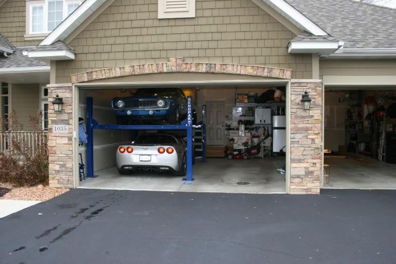 4 Post Garage Lift Mass Equipment Solutions Inc